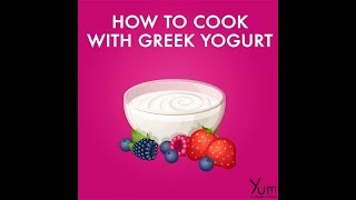 How to Cook With Greek Yogurt