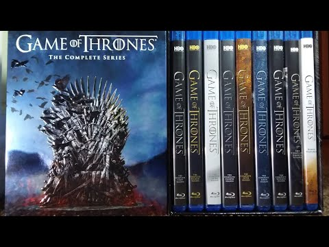 Game Of Thrones: The Complete Series BD Unboxing