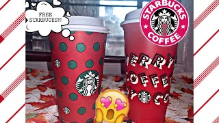 FREE STARBUCKS?! NEW HOLIDAY FLAVORS 11.7.2019!