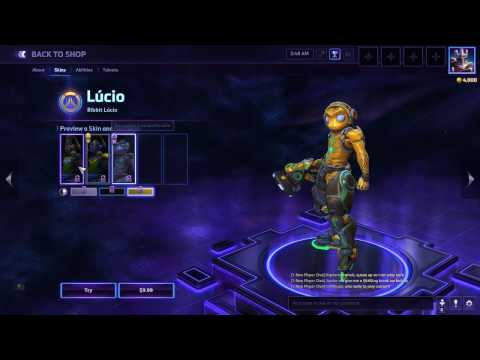 Heroes of the storm Lucioreview