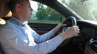Черный Бумер Обзор и тест драйв БМВ 7 серии G12 BMW 740 LD
