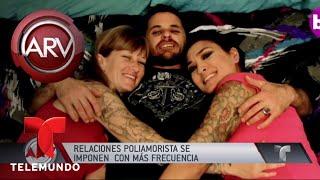 Así conviven este hombre, sus dos mujeres y sus hijos | Al Rojo Vivo | Telemundo