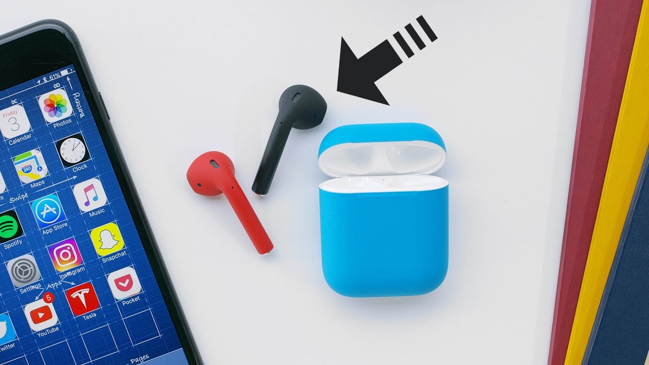 The Colored AirPods Apple Should Have Made!