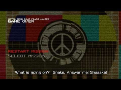 Metal gear solid peace walker easter egg part youtube