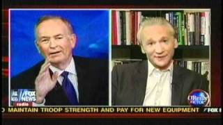Bill O'Reilly Vs Bill Maher Religion Debate