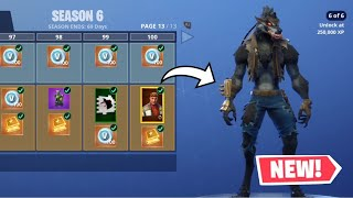 S6 BATTLE PASS! Fortnite Season 6