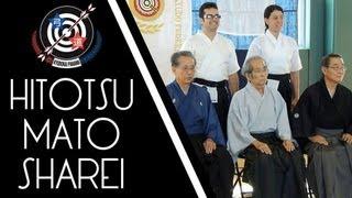 ikyf kyudo seminar ceremony shooting ひとつまと謝礼 part ii