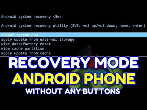 How to Enter into Recovery Mode without Volumes Key | Hindi