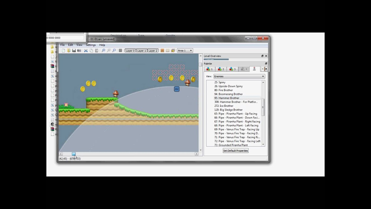 new super mario bros level editor download