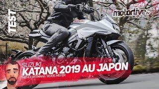 SUZUKI KATANA 2019 AU JAPON   TEST MOTORLIVE