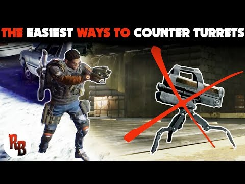 The Division I The easiest ways to counter Turrets