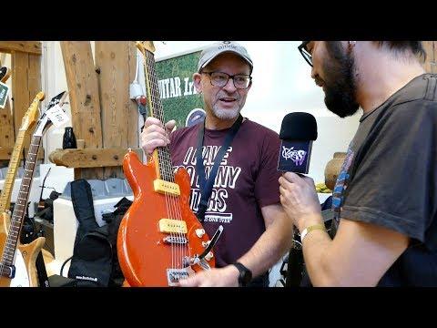 Jan Irhøj @ Copenhagen Guitar Show 2017