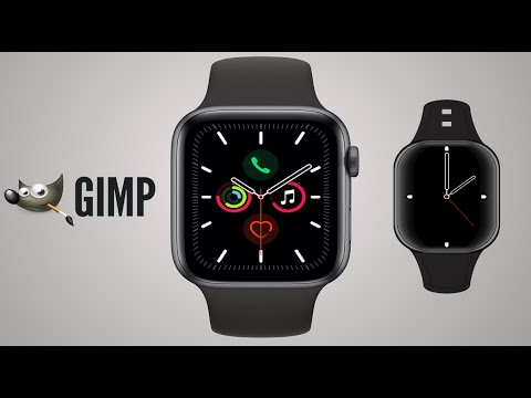 Gimp Tutorial /Design Professional Logo of Wristwatch thumbnail