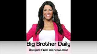 big brother canada bb daily backyard finale interview jillian