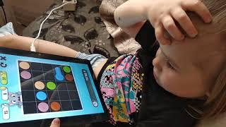 Анжела / играем в Анжелу / игры на планшете / кот Том / пес Хэнк