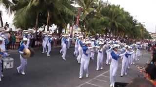 Saeng Thong Marching Band 2013 - Beach Parade Pattaya