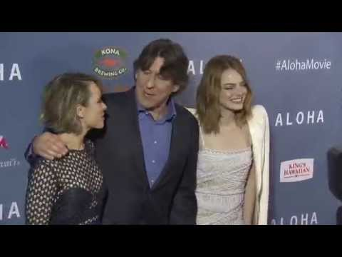 Aloha Special Screening Red Carpet - Emma Stone, Rachel McAdams, Danielle Russell, Cameron Crowe