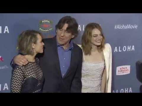 Aloha Special Screening Red Carpet - Emma Stone, Rachel McAdams, Danielle Russell, Cameron Crowe
