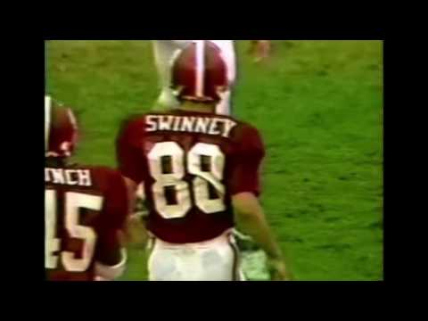 Coach Dabo Swinney WR Highlights Playing at Alabama