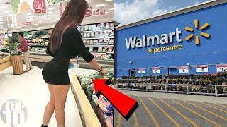 INAPPROPRIATE People At Walmart! thumbnail
