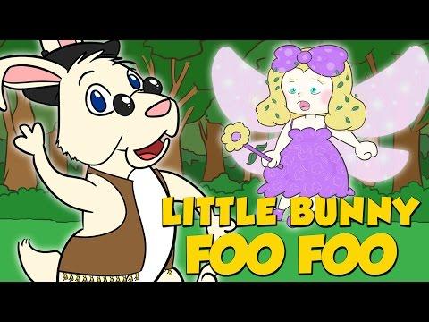 Little Bunny Foo Foo | Nursery Rhyme Time | A Cool School Nursery Rhyme