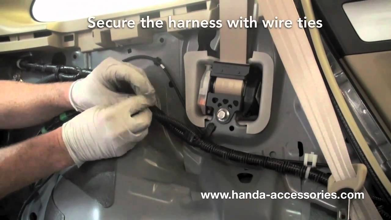 Crv trailer hitch installation honda answers youtube