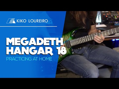 Megadeth Hangar 18  Practicing at home