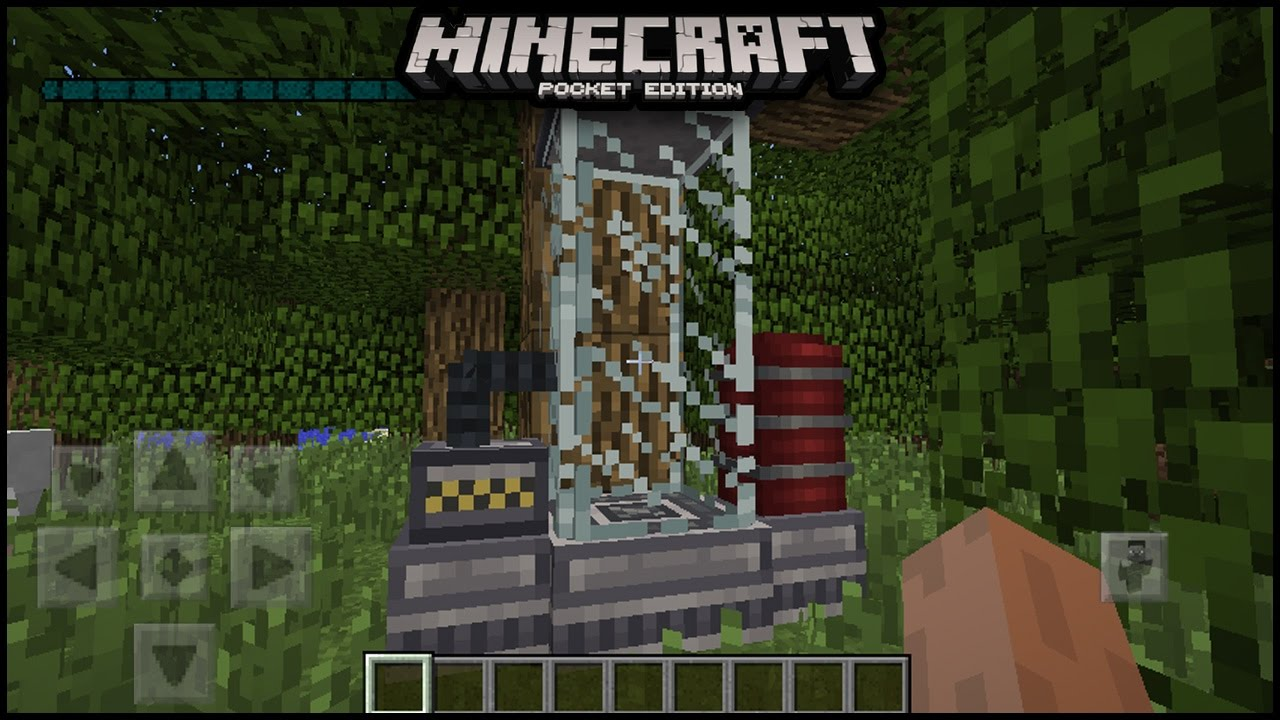 how to make a timer on minecraft pe