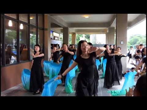 106 0716教與學博覽會5 飛天禪舞