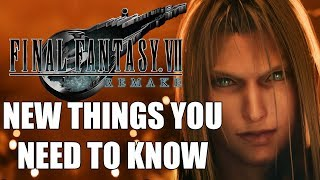 Final Fantasy 7 Remake - 12 NEW Things YOU NEED TO KNOW