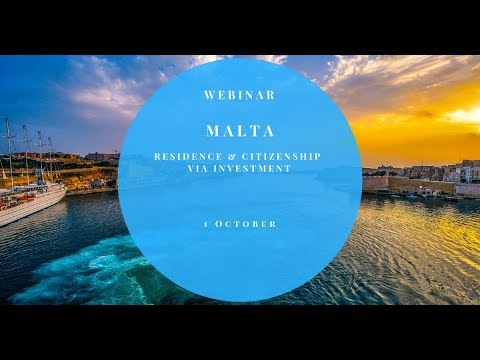 MALTESE RESIDENCE & CITIZENSHIP VIA INVESTMENT