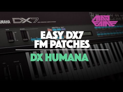 Yamaha Dx Tutorial