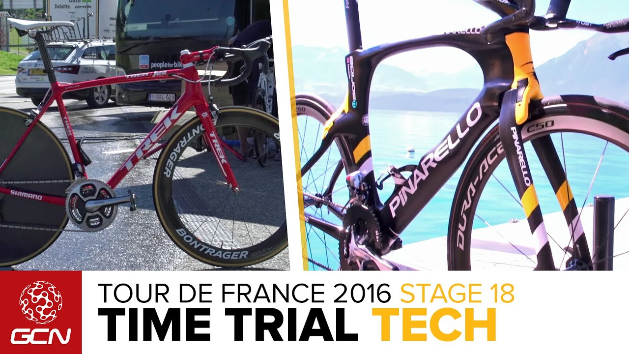 Tour De France 2016 Stage 18 Time Trial Tech What Bikes Will