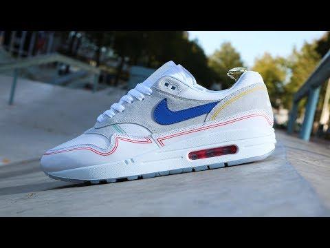 Nike Air Max 1 X Size What the Safari On Foot Only KixFix