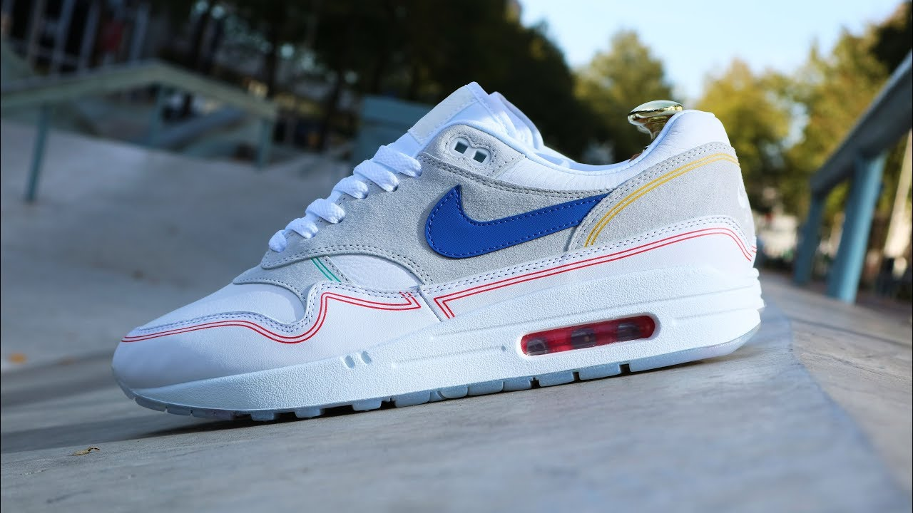 2c477802c85 Nike Air Max 1 One Centre Pompidou By Day Review & On Foot KixFix