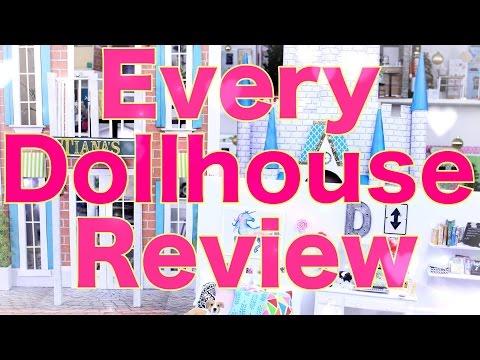 DIY - Every Dollhouse Review - Dollroom - Playset - Handmade - Craft - 4K