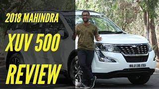 2018 Mahindra XUV 500 Facelift 7-days Road Test Review in Hindi