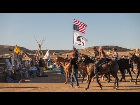 A Saudi artist at Standing Rock