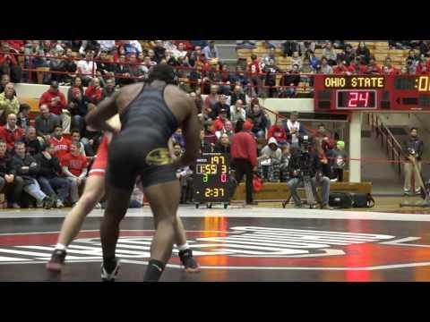Kollin Moore Ohio State vs J'Den Cox Missouri - 197 lbs