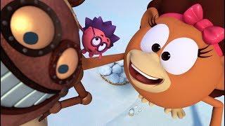 Сборник новогодних серий, часть 2   Смешарики Пин-код. Обучающие мультфильмы