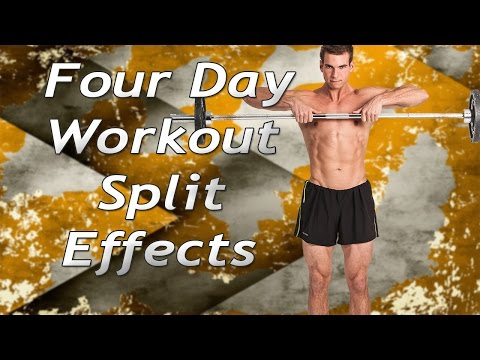 Four Day Workout Split Results