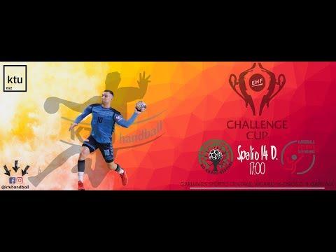 EHF Challenge cup Kauno Azuolas Ktu/Red Boys Differdange