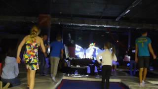 Световое шоу Эльфейс в батутном парке РАЗГОН ЕКБ