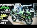 #Ninja400#Ninja400review 2018 KAWASAKI NINJA 400   EXCLUSIVE TOURING REVIEW 500+ km !!   India