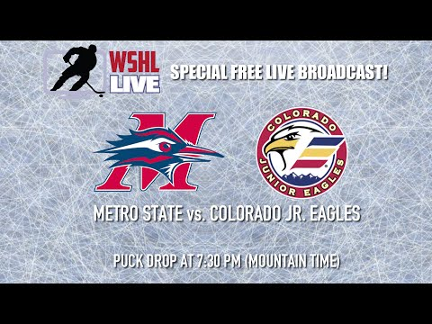 WSHL Exhibition: Metro State University vs. Colorado Jr. Eagles