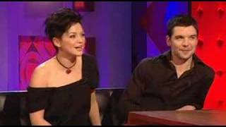 Hannah and Andrew Lee  on the Jonathan Ross Show