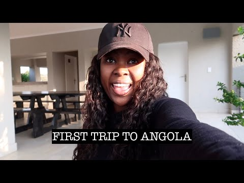 SPEND THE WEEK WITH ME | FIRST TRIP TO ANGOLA | NEW SHOES