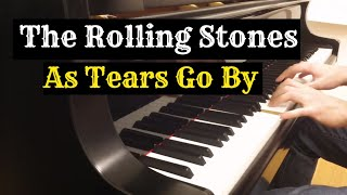The Rolling Stones - As Tears Go By | Piano cover by Evgeny Alexeev