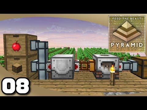 FTB Pyramid Reborn - Ep. 8: Fully Automatic Tree Farm