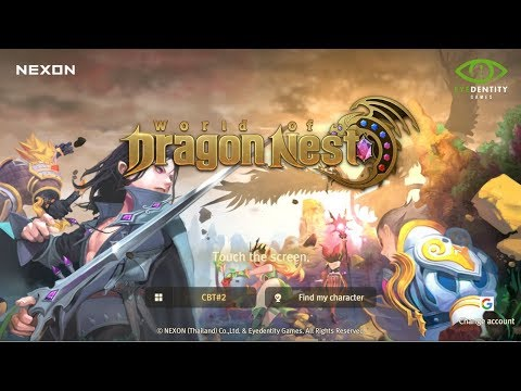 World of Dragon Nest GamePlay & Reviews